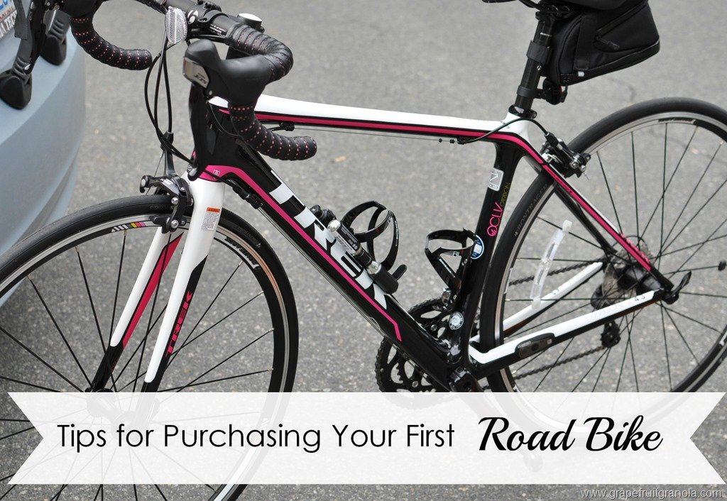 Tips for Buying Your First Road Bike