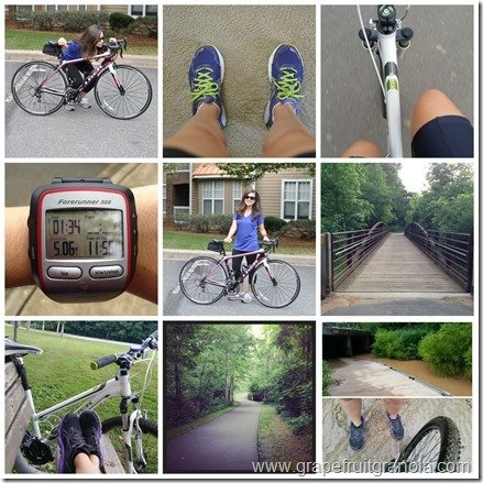 325 miles challenge collage