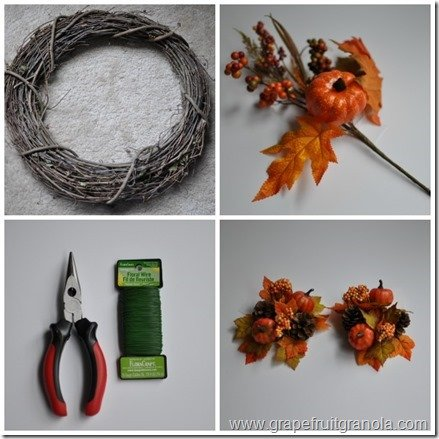 Fall Wreath Supplies Grapefruit Granola