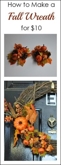 Fall Wreath Tutorial Grapefruit Granola
