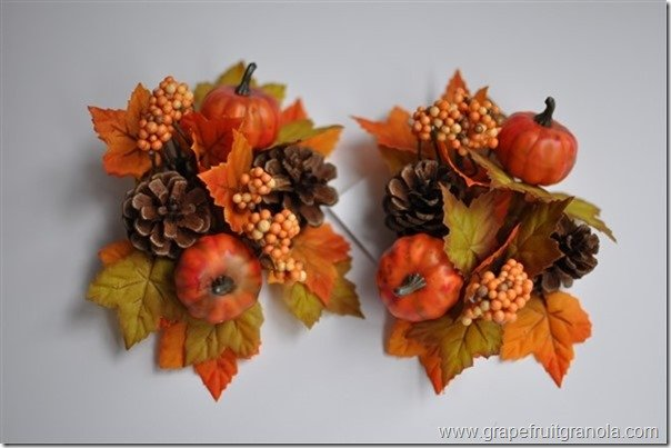 Grapefruit & Granola Fall Wreath Napkin Rings