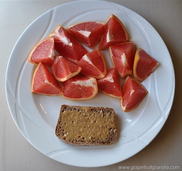 Grapefruit and Artisan Bread