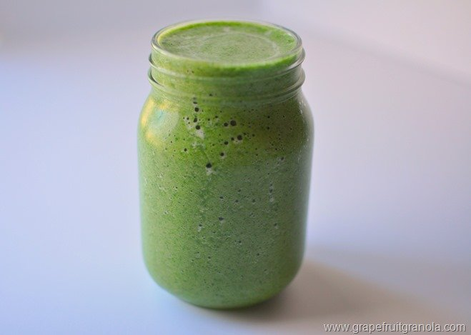 Banana Pear Shamrock Smoothie 2