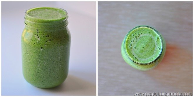Shamrock Smoothie Collage