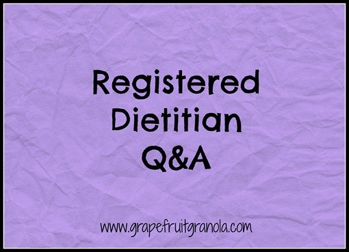 Registered Dietitian Q and A