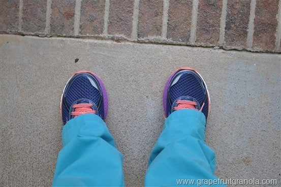 Brooks Adrenaline GTS 15 Grapefruit Granola