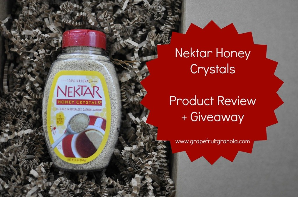 Product Review: Nektar Honey Crystals + Giveaway