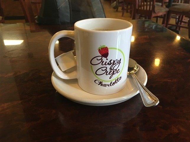 Crispy Crepe Coffee