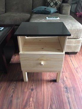 Ikea Tarva nightstand