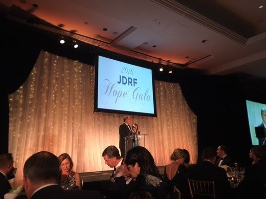 JDRF Hope Gala 2016 Rita Ken Church
