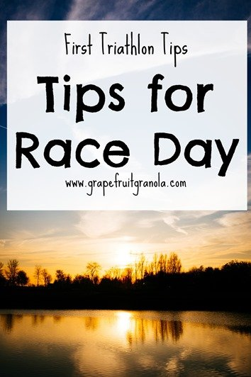Tips for your first triathlon race day tips