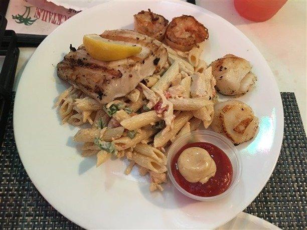 Woody's St. John Seafood Platter