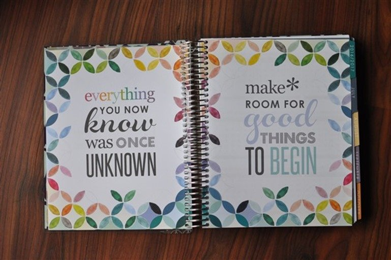 Erin Condren LifePlanner inspirational