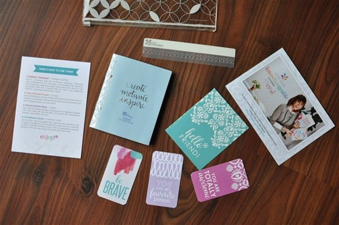 Erin Condren LifePlanner pouch contents