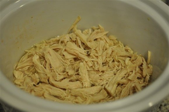Shredded Chicken How to Make Slow Cooker Chicken G & G Nutrition Co