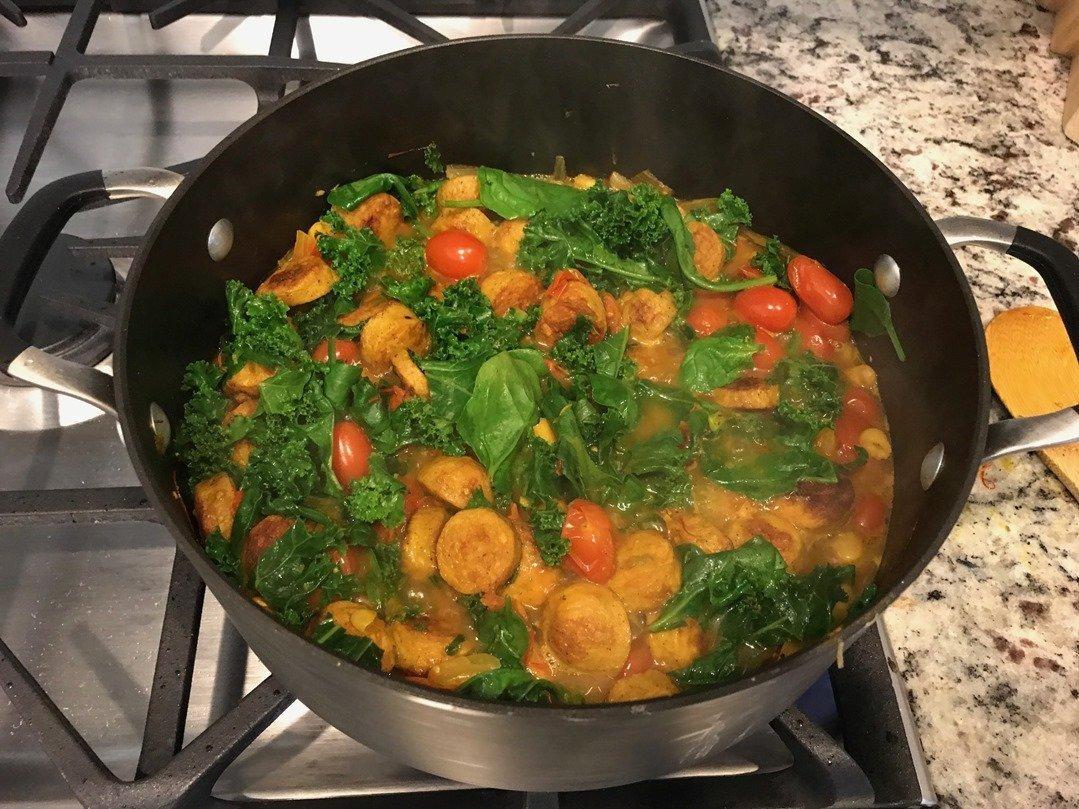 Kale Tuscan Bean Soup