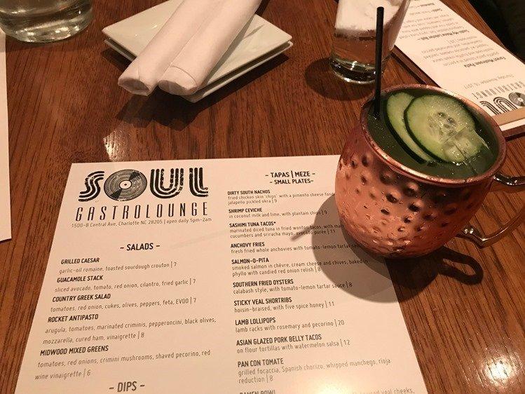 Soul Gastrolounge Cucumber Mule