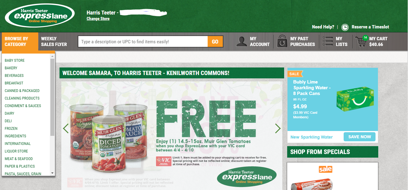Review of Harris Teeter's ExpressLane | Nutrition Coaching