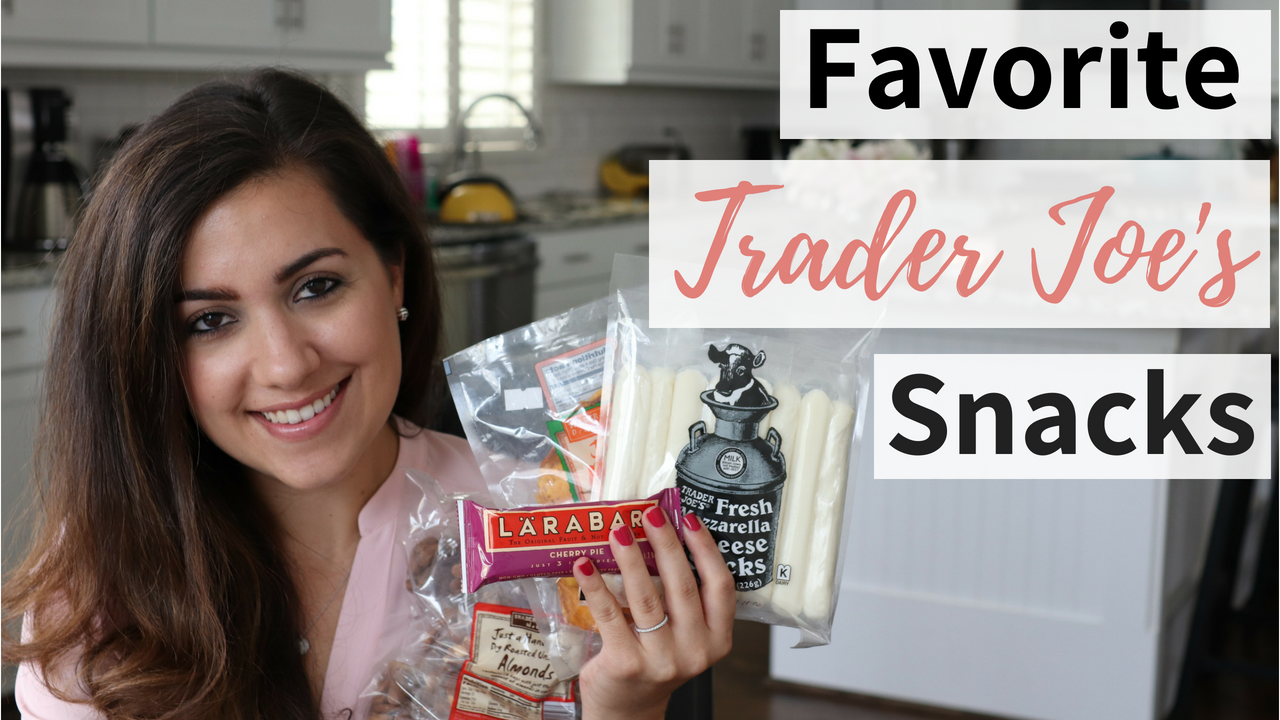 Favorite Snacks from Trader Joe's