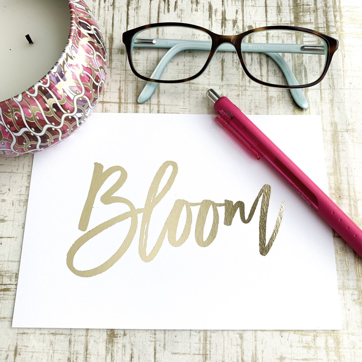 Word for 2019 – Bloom